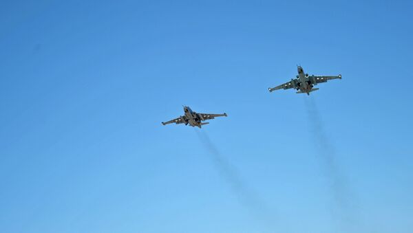 Samoloty RF w Syrii - Sputnik Polska