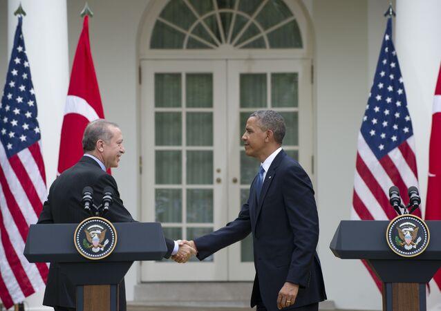 Barack Obama i Recep Tayyip Erdogan