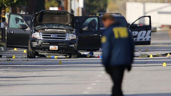 Strzelanina w San Bernardino w Kalifornii - Sputnik Polska