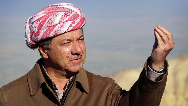 Prezydent autonomicznego rządu kurdyjskiego w północnym Iraku Masud Barzani - Sputnik Polska