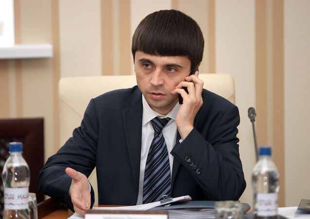 Wicepremier krymskiego rządu Ruslan Balbek