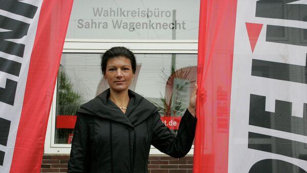 Sahra Wagenknecht - Sputnik Polska