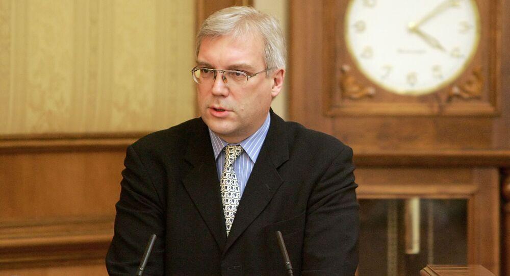 Wiceminister spraw zagranicznych Rosji Aleksander Gruszko