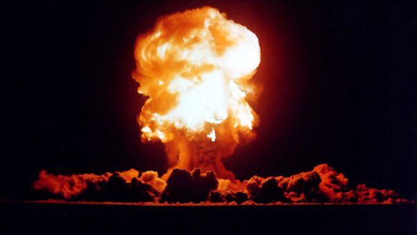 US nuclear weapons test in Nevada in 1957 - Sputnik Polska