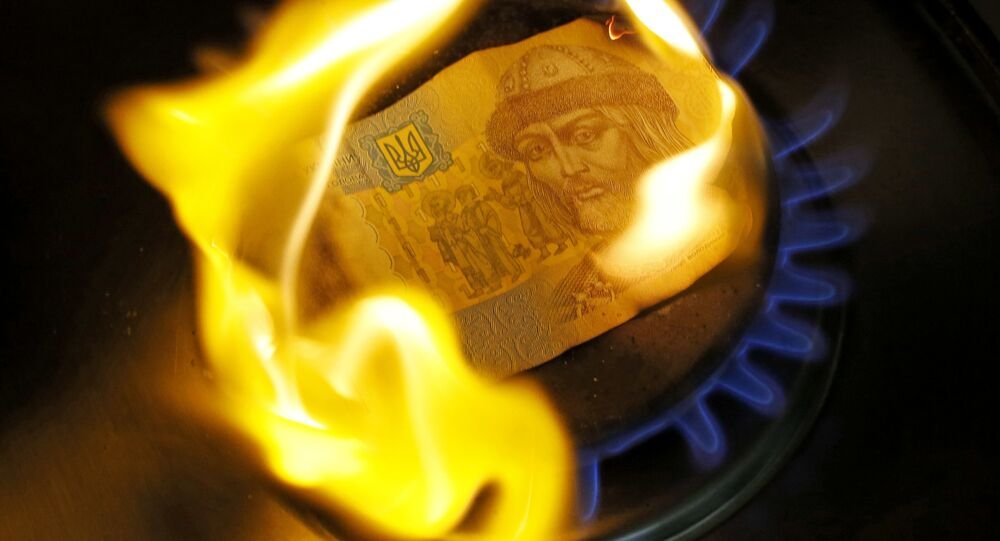 Płonąca hrywna