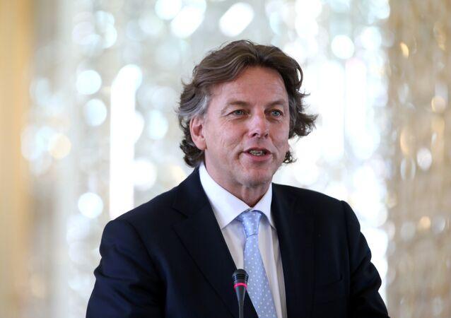 Minister spraw zagranicznych Holandii Bert Koenders