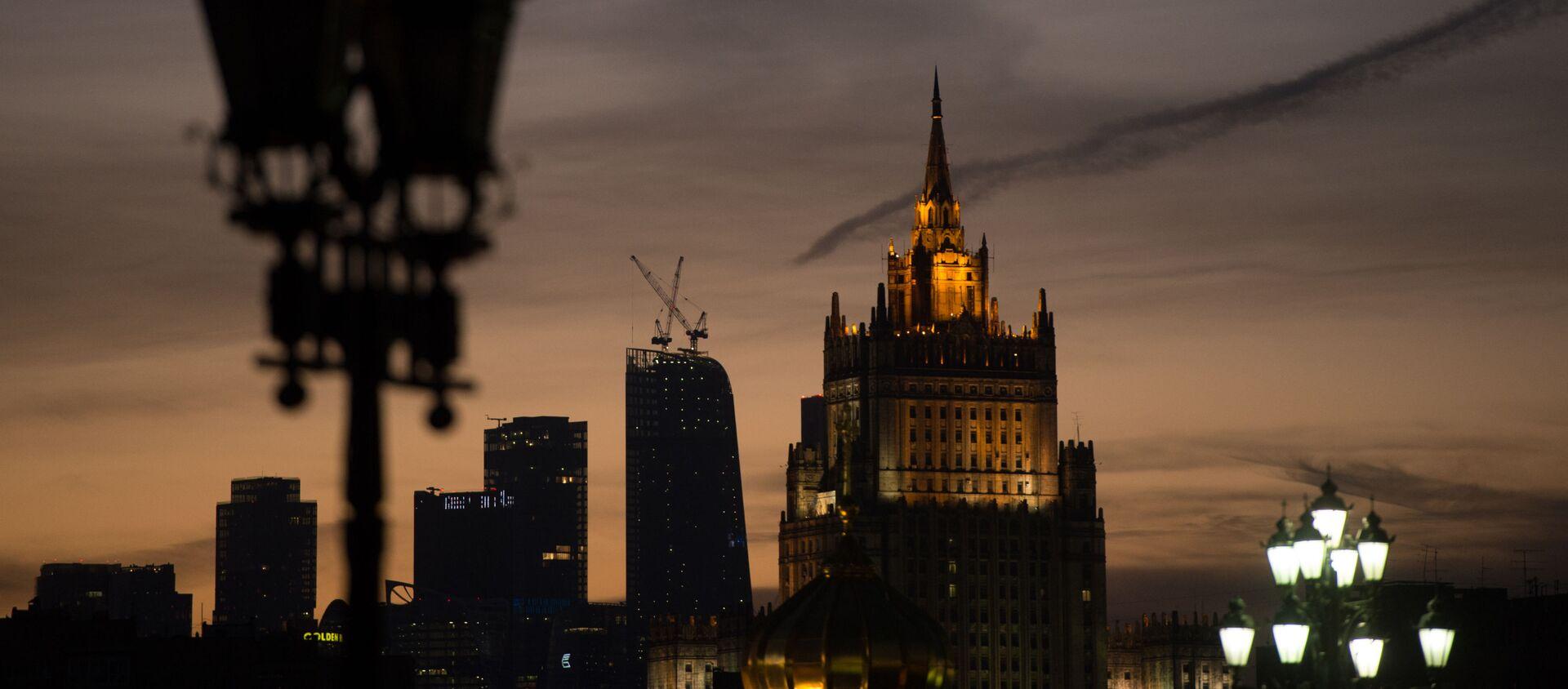 Widok na budynek MSZ Rosji  - Sputnik Polska, 1920, 19.02.2021