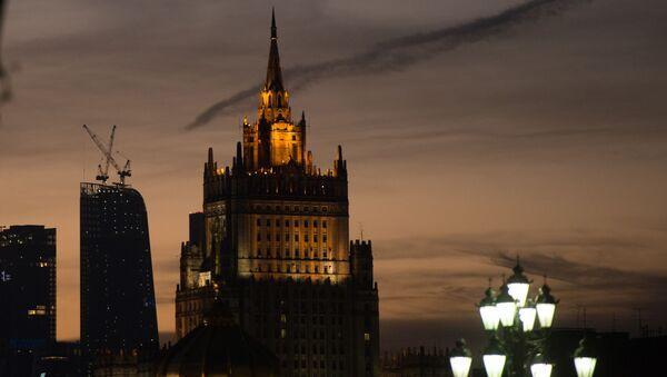 Widok na budynek MSZ Rosji - Sputnik Polska