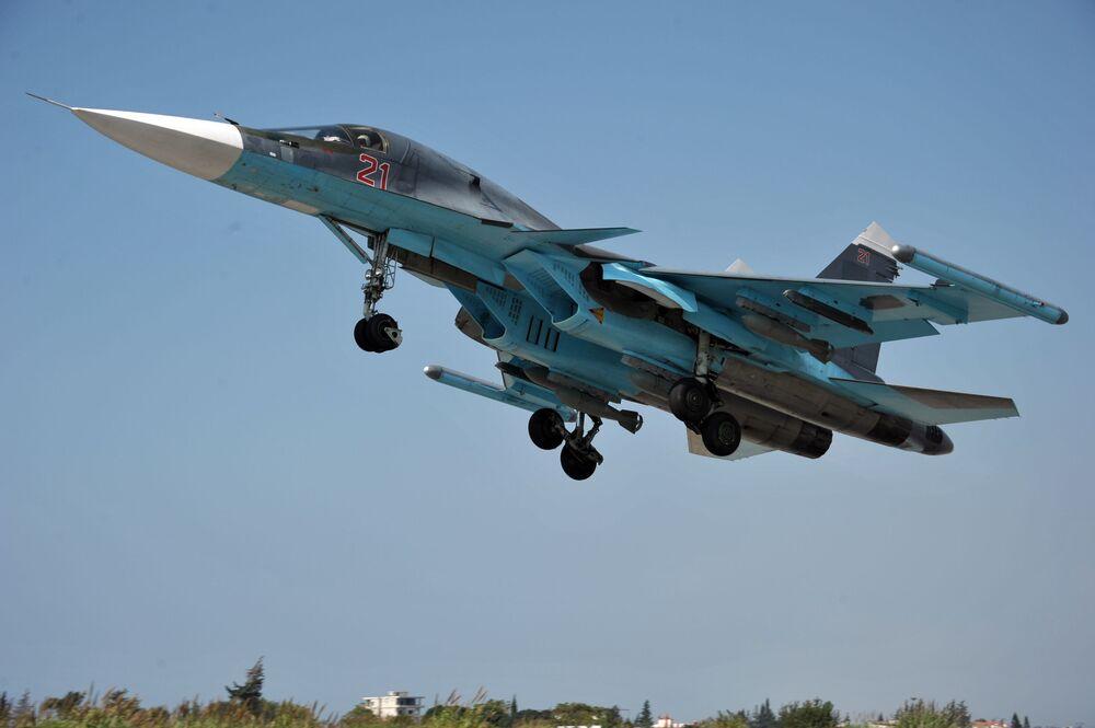 Samolot Su-34
