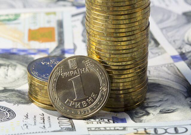 Hrywna ukraińska i dolar