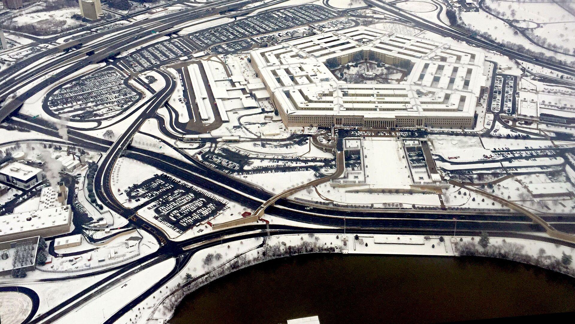 Widok na budynek Pentagonu w Waszyngtonie - Sputnik Polska, 1920, 08.02.2021