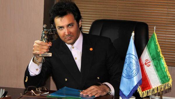 Irański aktor Hesam Navab Safavi - Sputnik Polska