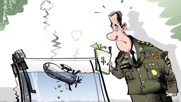 Nowe drony USA nie działają - Sputnik Polska