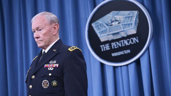 Generał armii USA Martin Dempsey w Pentagonie - Sputnik Polska