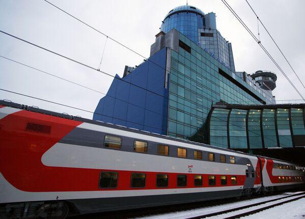 Nowy dwupiętrowy pociąg Samara-Moskwa - Sputnik Polska