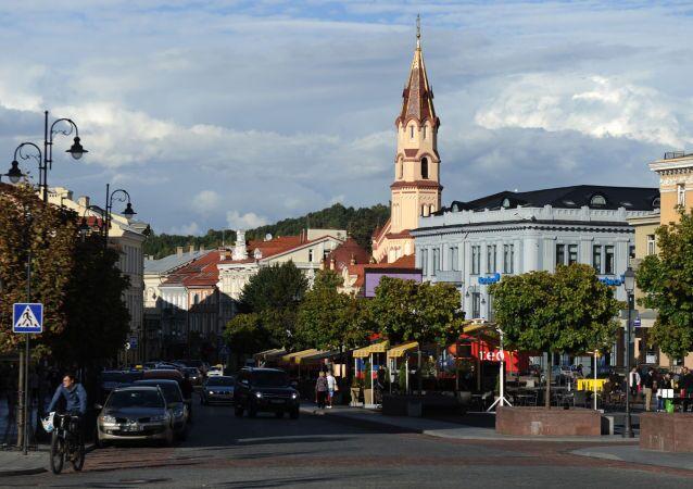 Ulica w Wilnie