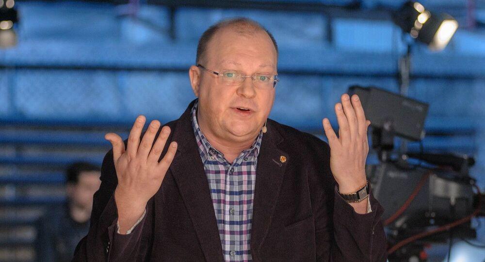 """Korespondent Międzynarodowej Agencji Informacyjnej """"Rossija Siegodnia Leonid Swiridow"""