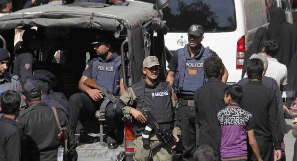 Pakistańska policja