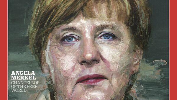 Angela Merkel na okładce The Times - Sputnik Polska