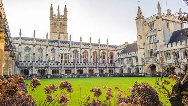 Magdalen College, wchodzący w skład Uniwersytetu Oksfordzkiego w Anglii - Sputnik Polska