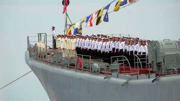 Rosyjska flota na morzu Czarnym - Sputnik Polska