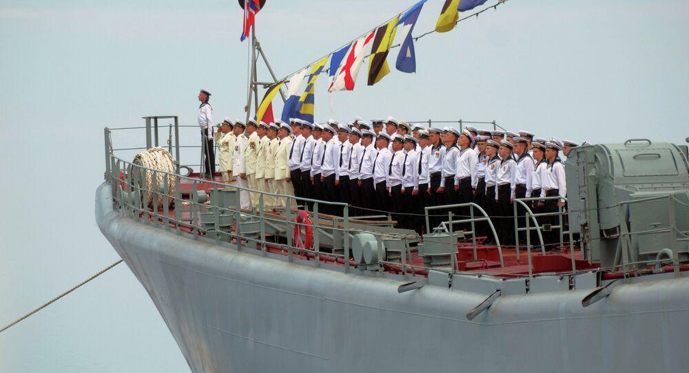 Rosyjska flota na morzu Czarnym