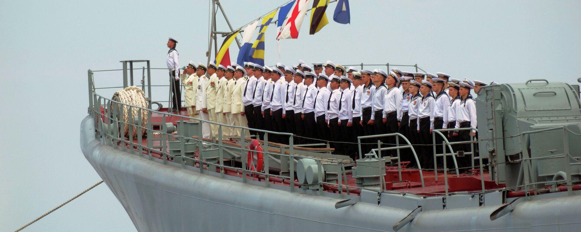 Rosyjska flota na morzu Czarnym - Sputnik Polska, 1920, 01.08.2021
