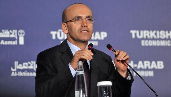 Wicepremier Turcji Mehmet Şimşek - Sputnik Polska