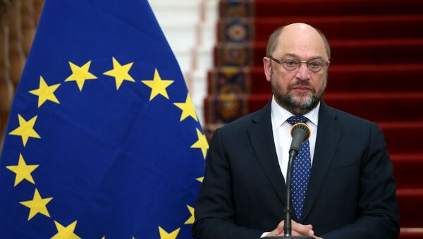 Przewodniczący Parlamentu Europejskiego Martin Schulz - Sputnik Polska