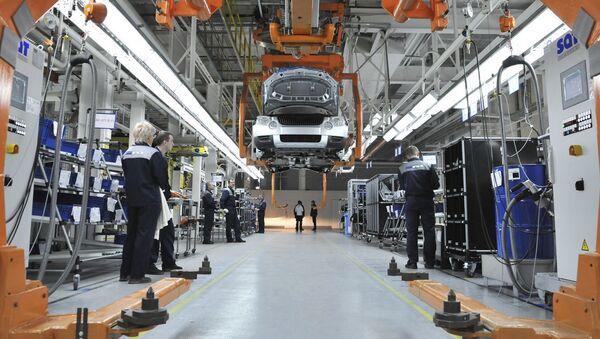 Produkcja samochodu Skoda Yeti w Gorkowskiej Fabryce Samochodów (GAZ) w Niżnym Nowogrodzie. - Sputnik Polska