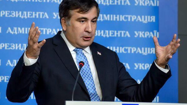 The governor of the Odessa Region and ex-Georgian president Mikheil Saakashvili - Sputnik Polska