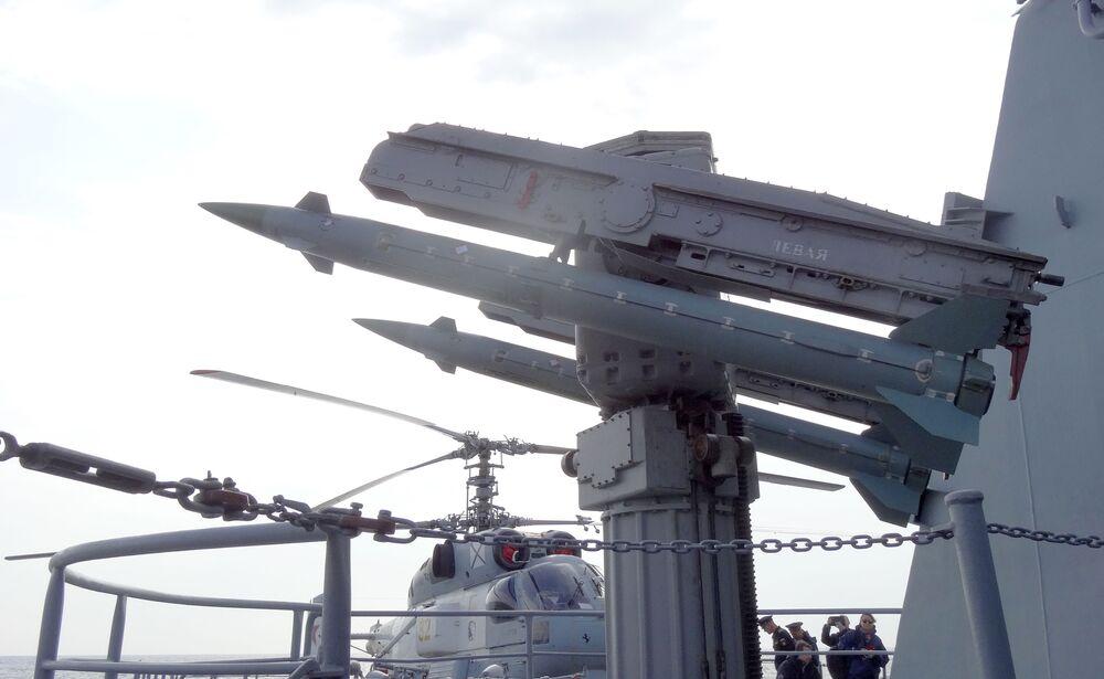 Rakiety przeciwlotnicze rosyjskiego krązownika Moskwa