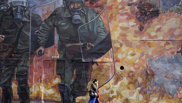 Graffiti w Bogocie, Kolumbia - Sputnik Polska