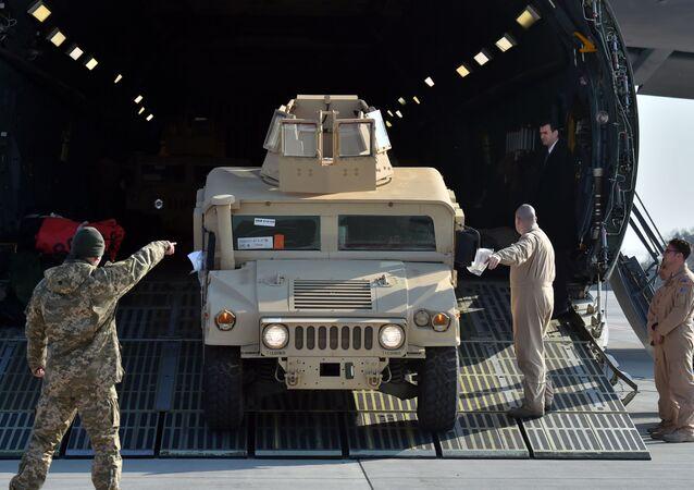 Amerykański samochód opancerzony Humvee