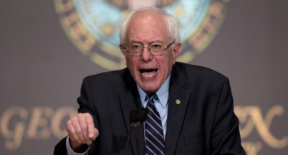 Kandydat na prezydenta USA Bernie Sanders