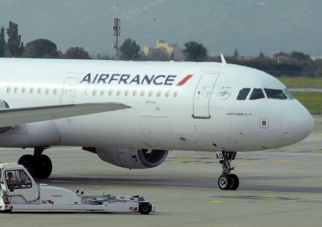Awaryjne lądowanie samolotu Air France w Kenii