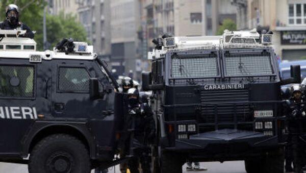 Włoska policja - Sputnik Polska