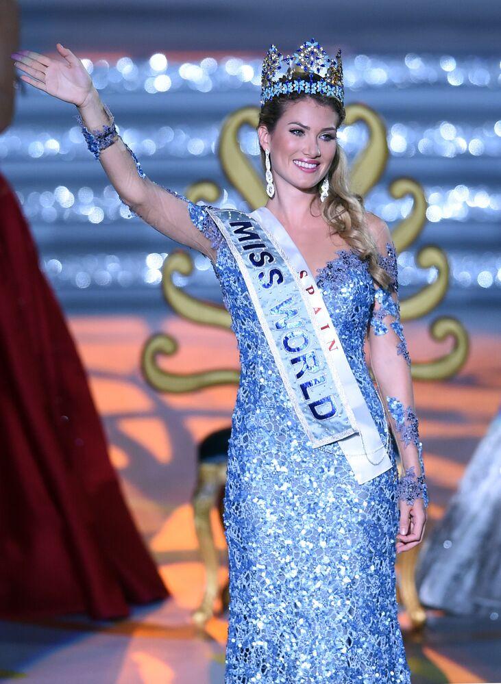 Miss World Mireia Lalaguna Rozo z Hiszpanii.