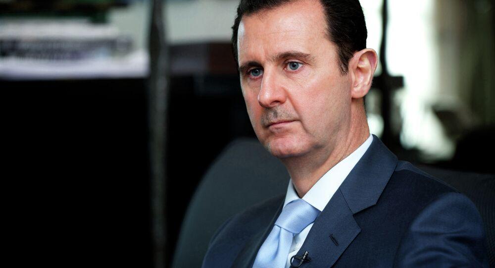 Prezydent Syrii Baszar al-Asad