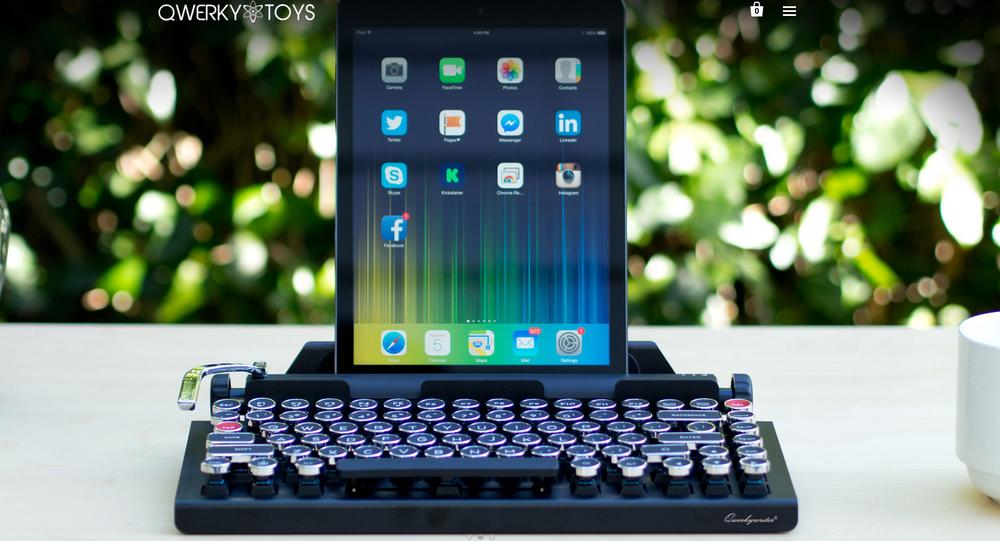 Klawiatura QwerkyWriter dla iPada