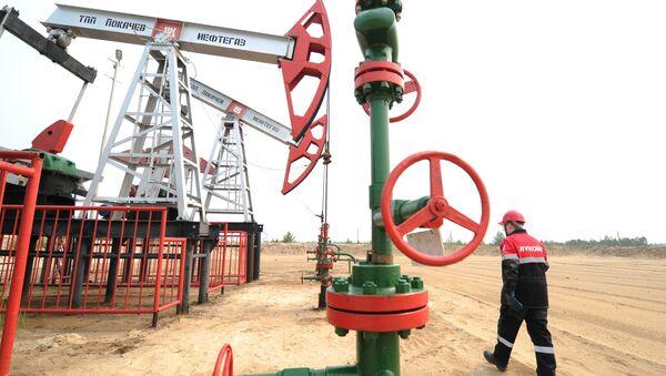 Wydobycie ropy naftowej w Chanty-Mansyjskim Okręgu Autonomicznym - Sputnik Polska