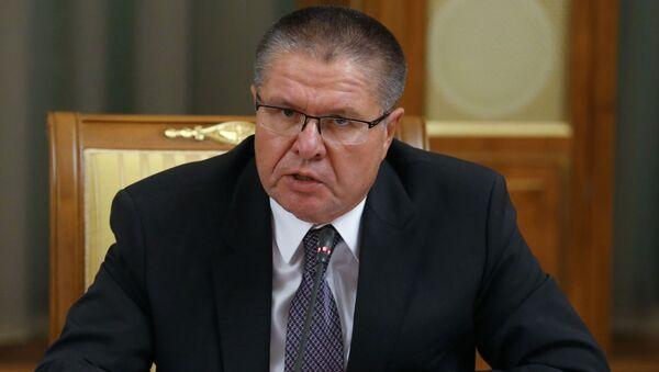 Minister Rozwoju Gospodarczego Rosji Aleksiej Uljukajew na posiedzeniu rady ministrów - Sputnik Polska