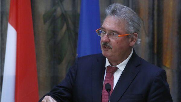 Minister spraw zagranicznych Luksemburga Jean Asselborn w Nikozji - Sputnik Polska