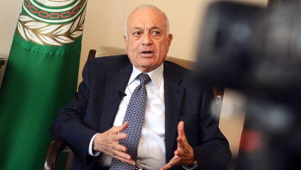 Sekretarz generalny Ligi Państw Arabskich Nabil Elaraby - Sputnik Polska