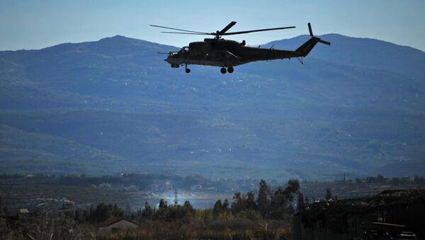 Rosyjskie lotnictwo wojskowe na bazie lotniczej Hmejmim w Syrii - Sputnik Polska