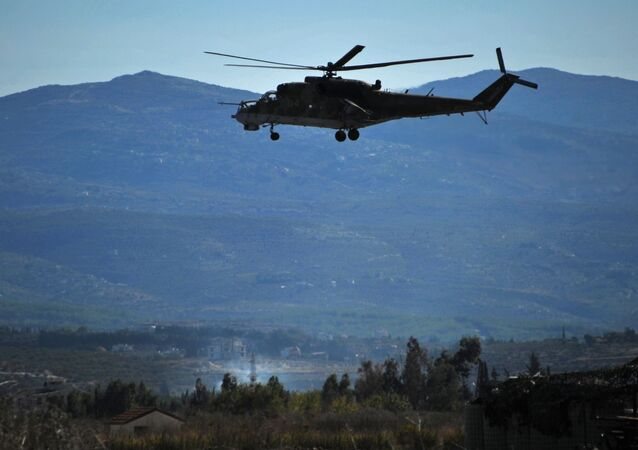 Rosyjskie lotnictwo wojskowe na bazie lotniczej Hmejmim w Syrii