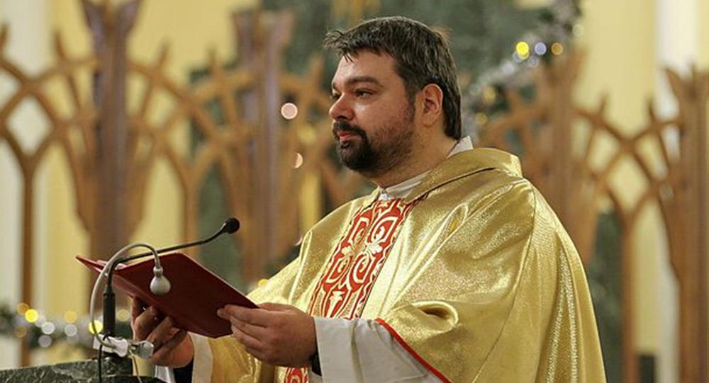 Ojciec Cyryl (Gorbunow), dyrektor Biura Informacyjnego Arcybiskupstwa Katolickiego Matki Boskiej w Moskwie
