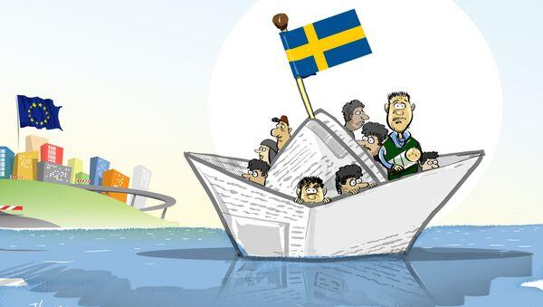 Gdzie mają mieszkać uchodźcy? Na morzu! - Sputnik Polska