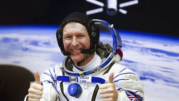 Astronauta Tim Peake na kosmodromie Bajkonur - Sputnik Polska