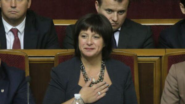 Minister finansów Ukrainy Natalie Jaresko - Sputnik Polska